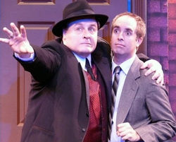 Actor Michael Walters as Max Bialystock in The Producers