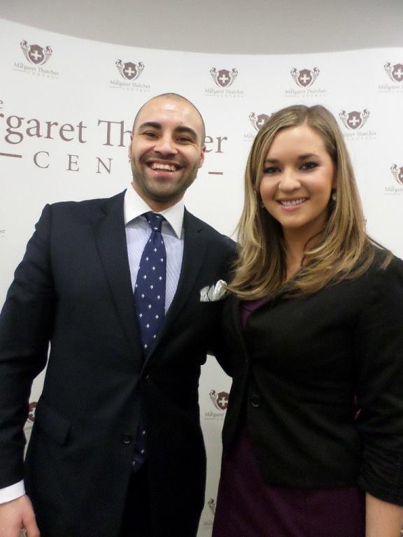 Adriel Kasonta with Katie Pavlich