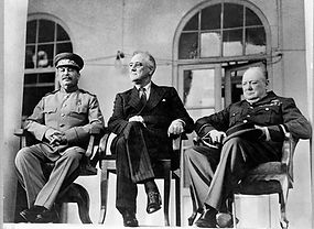 Stalin, Roosevelt, Churchill: Teheran Conference 1943