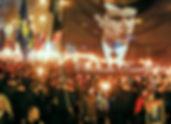 75 anniversary of the UPA in Kiev - Stepan Bandera (Ukraine)