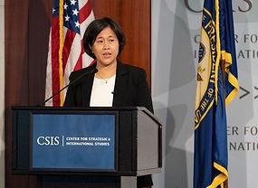 US Trade Representative Katherine Tai