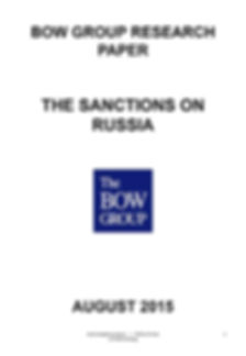 The Sanctions on Russia and policy proposals for Ukraine