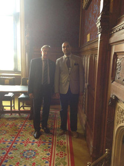 Adriel Kasonta with Gerald Howarth