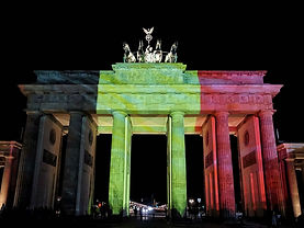 The Brandenburg Gate in Berlin (Germany)