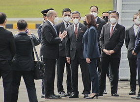 U.S. Vice President Kamala Harris in Singapore'