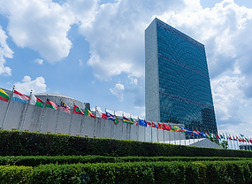 Headquarters of the United Nations in New York, U.S.