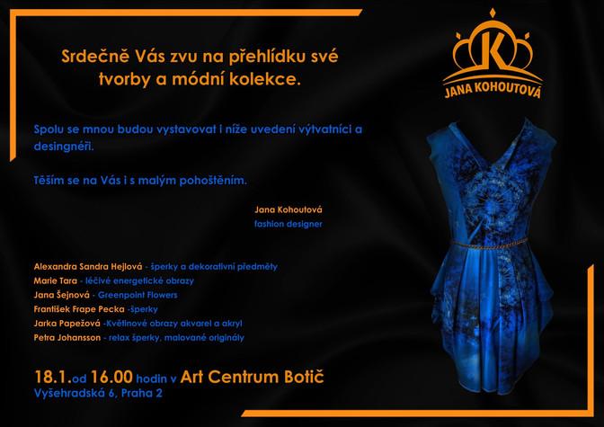 Jana Kohoutová - představení nové kolekce - 18.1.2020