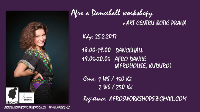 Afro a Dancehall workshopy