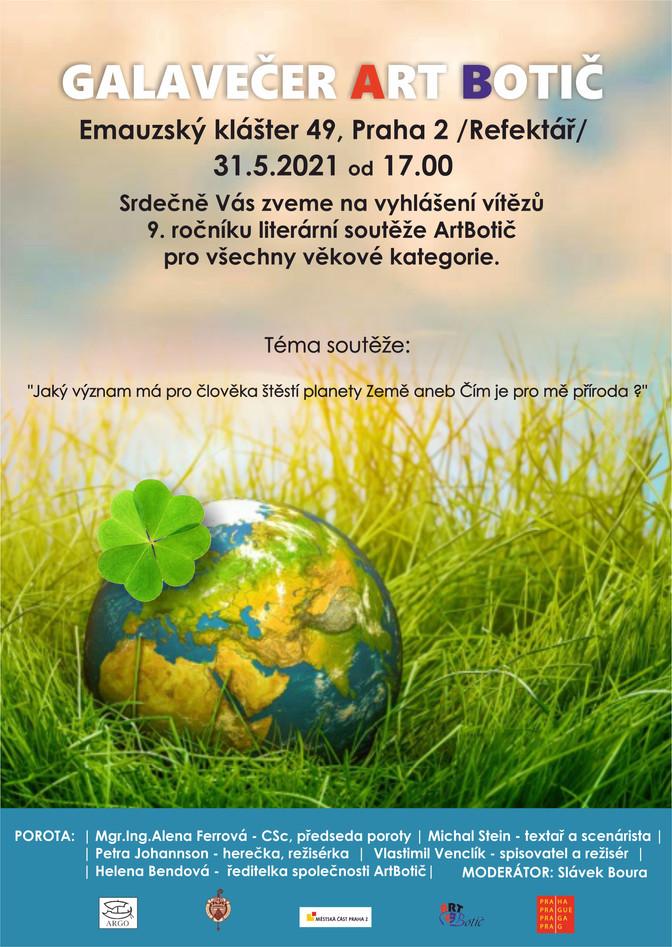 Galavečer Art Botič - 31.5.2021 od 17,00 hod.
