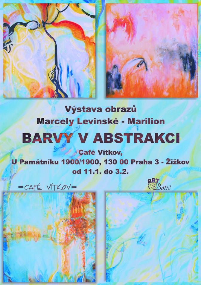 Barvy v abstrakci - Cafe Vítkov,  11.1. - 3.2.2020