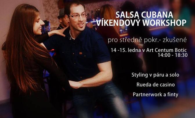 Salsa Cubana Víkendový Workshop