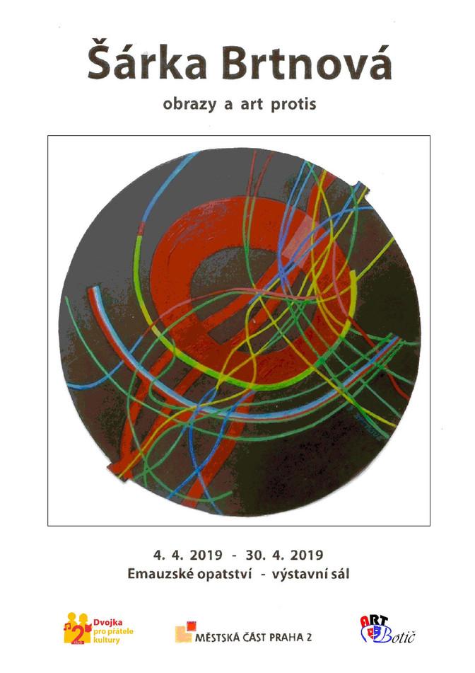 Šárka Brtnová - výstava 4-30.4.2019