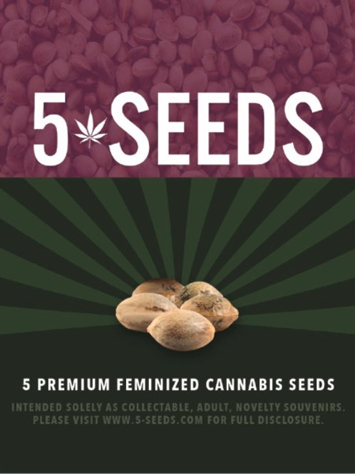 PHOTO Feminized Seeds- 5 seeds per package