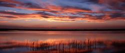 Bitter Lake Wildlife Refuge Sunset
