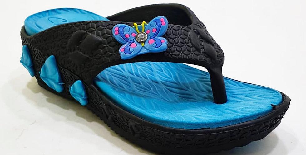 Sandalia doble pieza p/niña