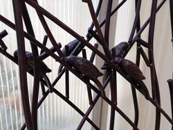 Beautiful new bird trellises