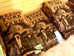 Locally produced organic feed