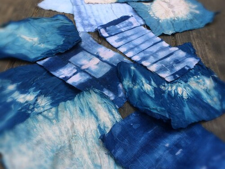 Shibori Dyeing Workshop with Diana Cathcart