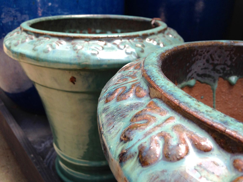 Fine ceramic pottery