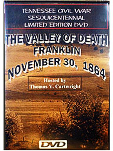 The Valley of Death, Nov 30, 1864 DVD