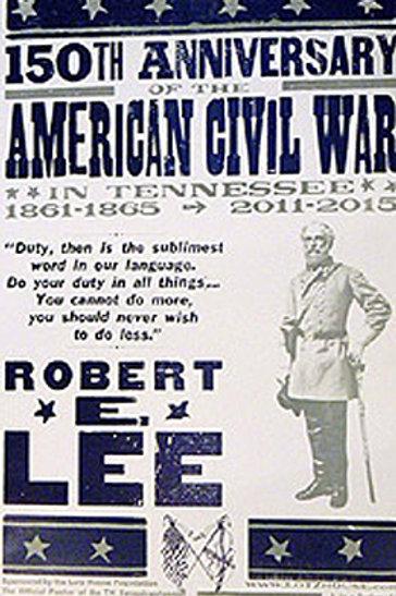 Robert E. Lee Sesquicentennial Hatch Show Print