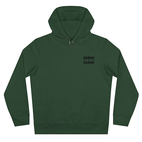 """Dead Poets Society King Hooded Sweatshirt """"barely.hanging.on"""""""