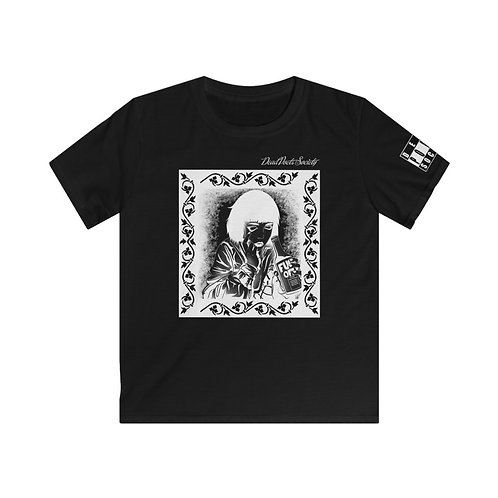 """Dead Poets Society Kids Softstyle Tee """"seeing.clear"""""""