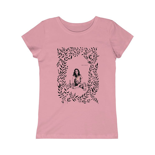 """Dead Poets Society Girls Tee """"lrn.to.let.go"""""""