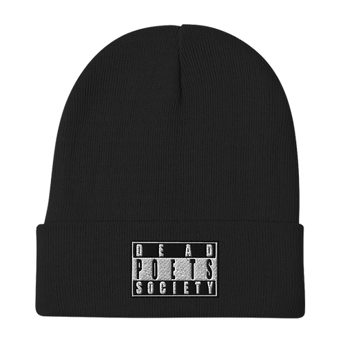 Dead Poets Society Embroidered Beanie