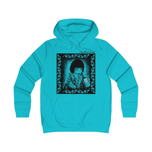 """Dead Poets Society Fitted College Hoodie """"seeing.clear"""""""