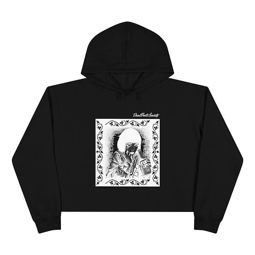"Dead Poets Society Crop Hoodie ""seeing.clear"""