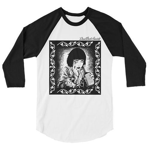 "Dead Poets Society 3/4 Raglan ""seeing.clear"""