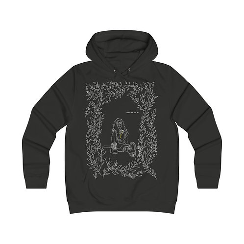 """Dead Poets Society Women's College Hoodie """"lrn.to.let.go"""""""