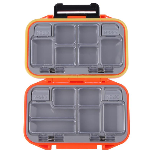 Fishing Tackle Boxes 12 Compartments Waterproof Lure Hook Bait Fishing Tackle