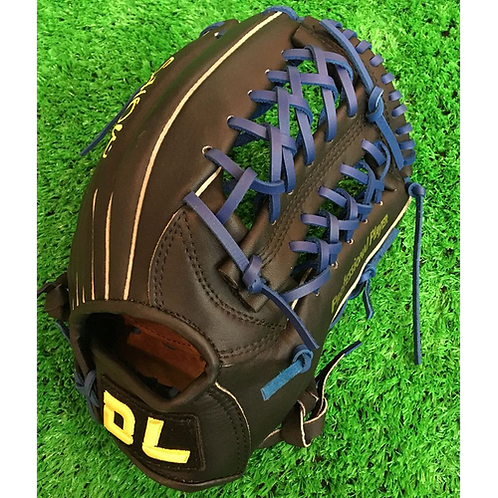 High quality! DL Adult 12.5Inch cowhide leather baseball gloves softball infield