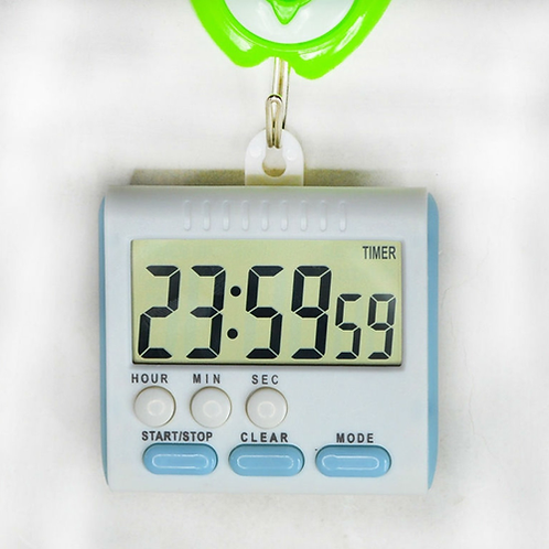 Large LCD Magnetic Digital Timers Kitchen Timer Cooking Timer Count Up Down Alar
