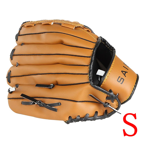 9# PVC Leather Baseball & Professional 10.5-12.5 Inch Brown Left Hand Baseball