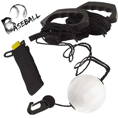 Zip-N-Hit Baseball Trainer Swing Trainer for Swing Dynamics Baseball and Softbal