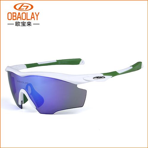 Sports Sunglasses for Men & Women Windproof Cycling Running Driving Fishing Golf