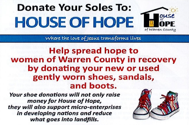 House of Hope Shoe Donation 2021 Cropped