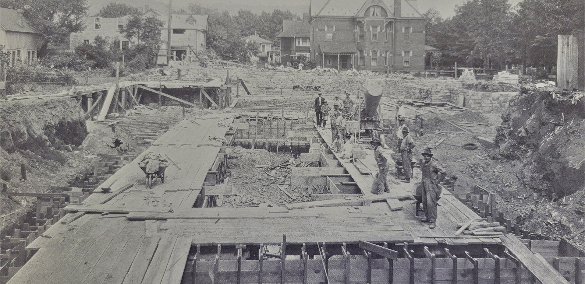 Laying the Foundation 1925