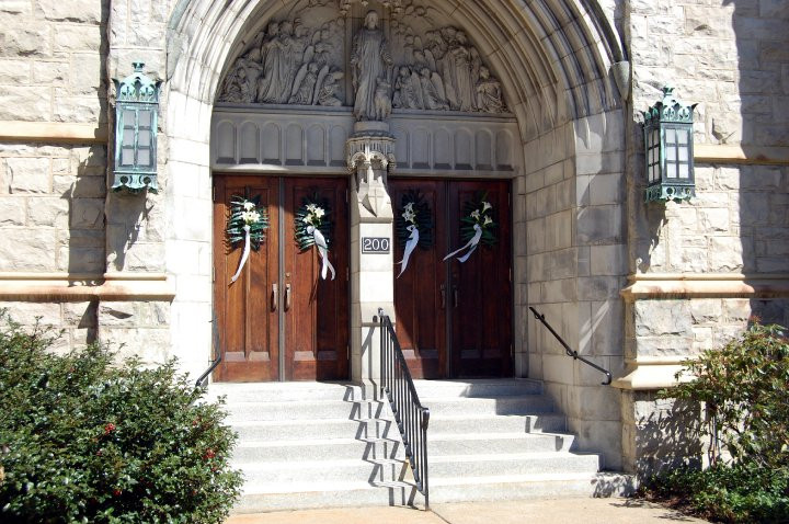 Front Doors for Palm Sunday