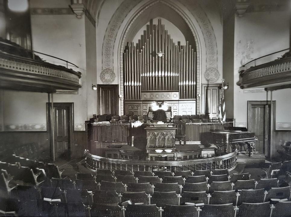 1883 Church Interior