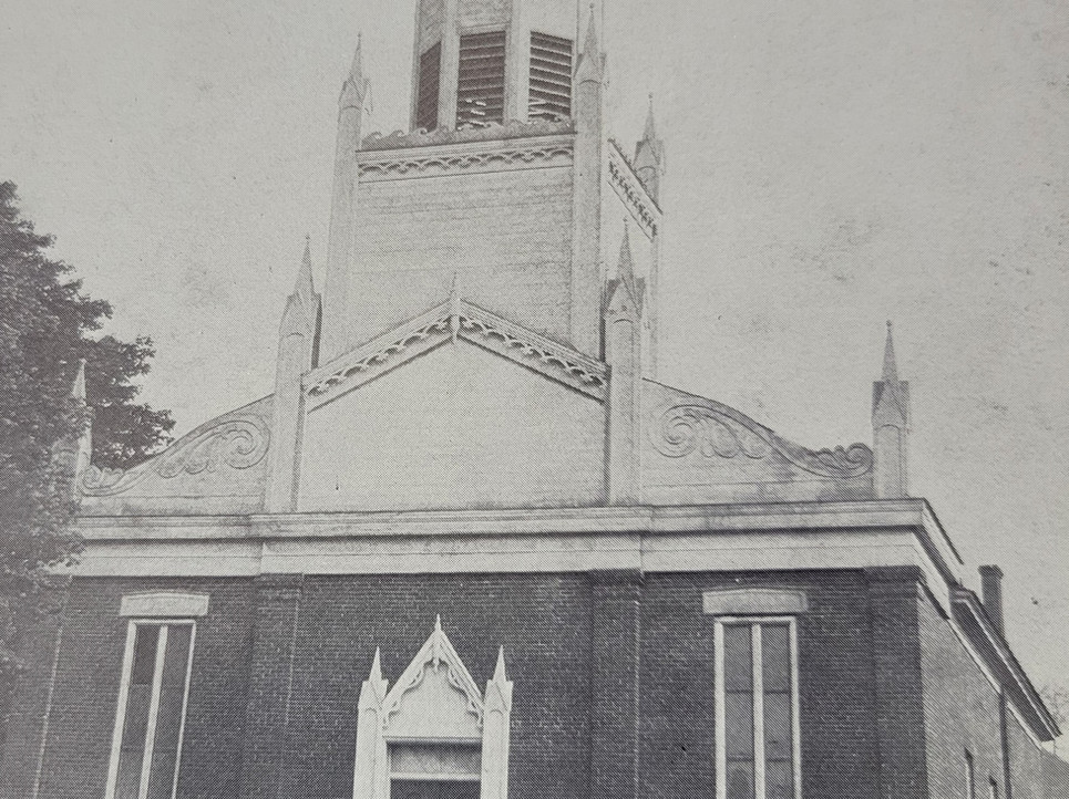 Methodist Church from 1833 to 1885