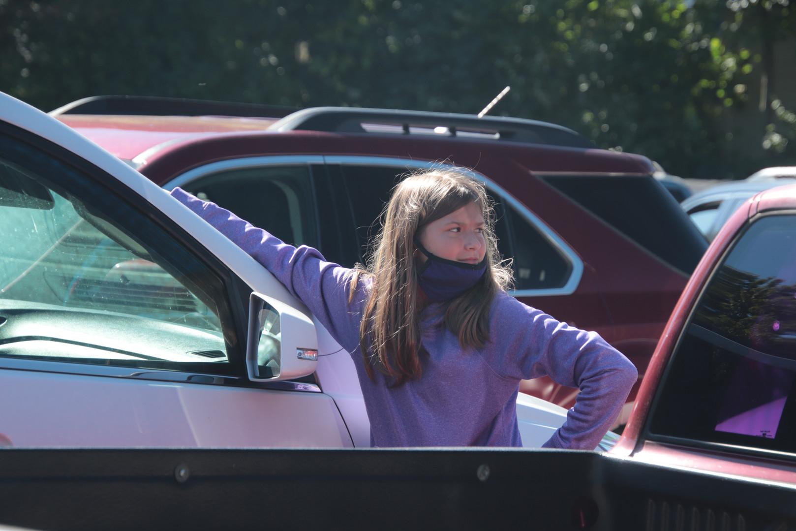 Girl in parking lot.JPG