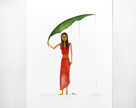 Banana Leaf Umbrella