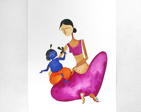 Krishna & Yasoda