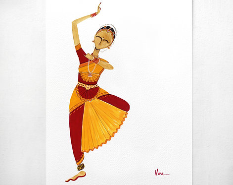 Bharatanatyam - Balance
