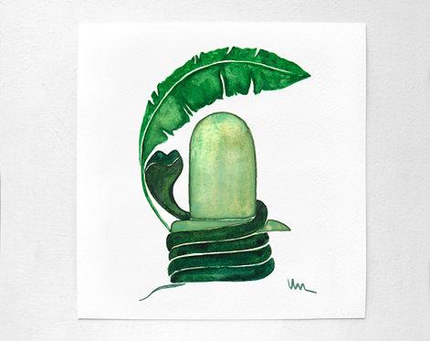 Shiva- Emerald