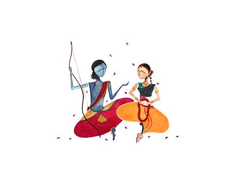 Ram Sita wedding- Digital
